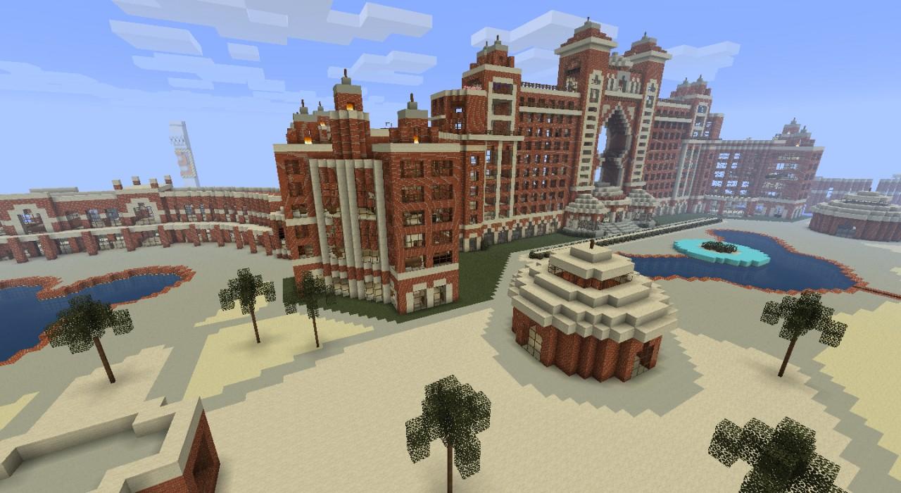 Hotel Atlantis In Dubai Royalty Free Stock Photo -