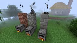 [1.2.5] Smoking Chimney Minecraft