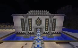 Castle on my NEW RPG server Minecraft Map & Project
