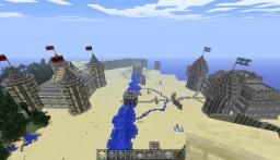 Castle Battlegrounds Minecraft Map & Project