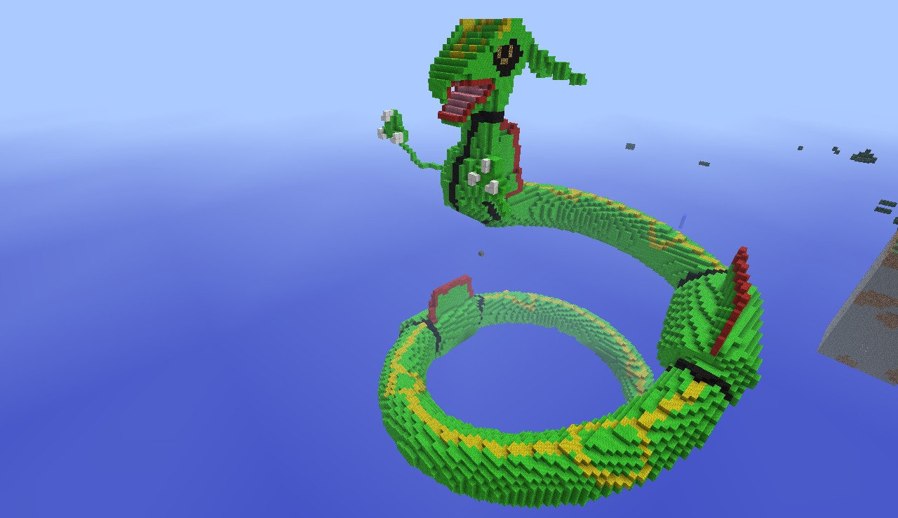 Rayquaza Minecraft Project