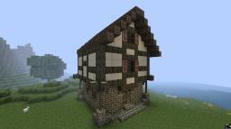 Tudor Village Minecraft Map & Project