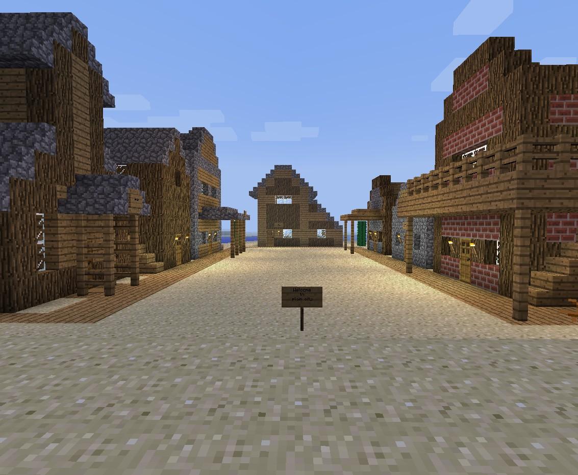 Wild West Town Minecra...