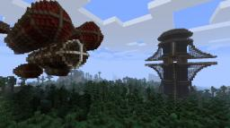 Lusitanian Air Ship Minecraft Map & Project