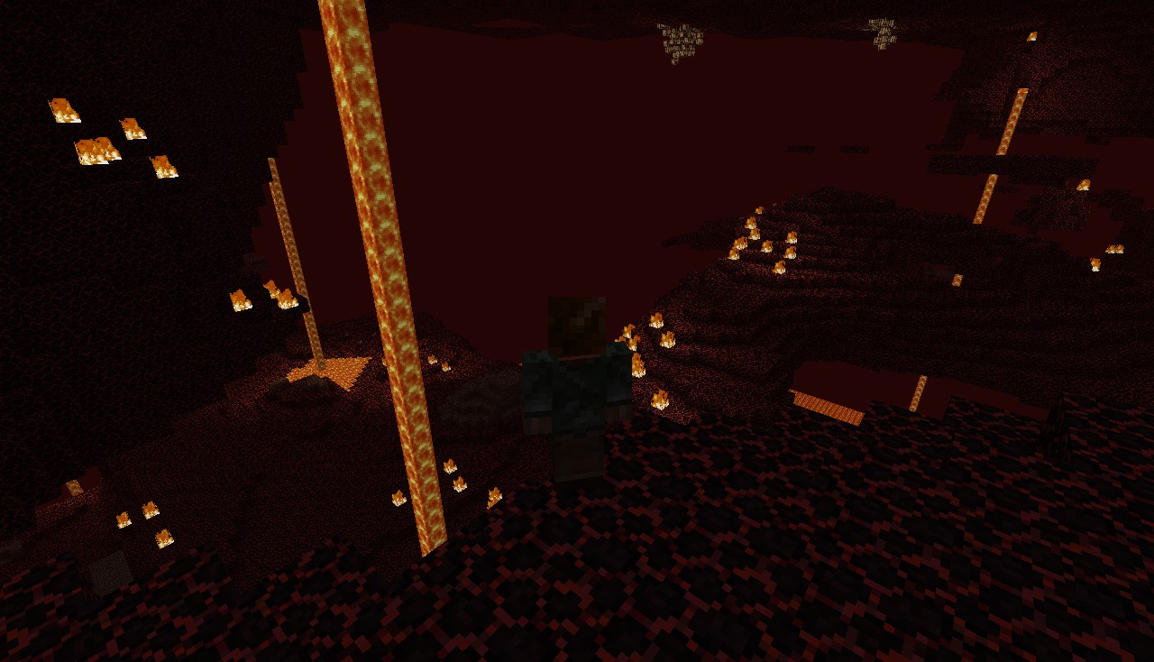 what the nether looked like