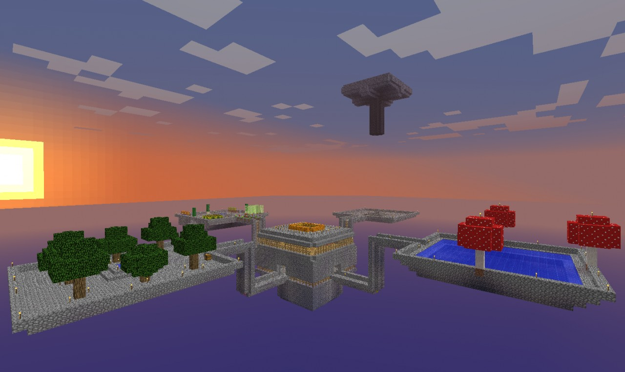 Skyblock World Finished Minecraft Project