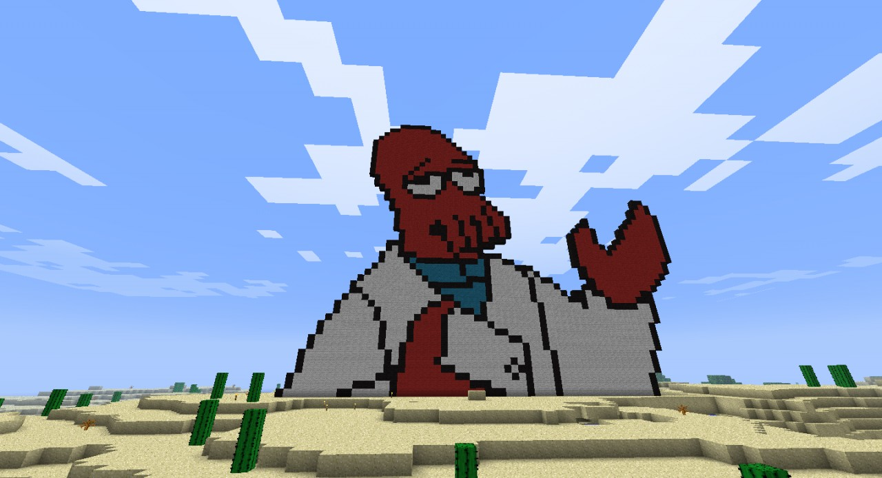 Why not Zoidberg? Minecraft Map