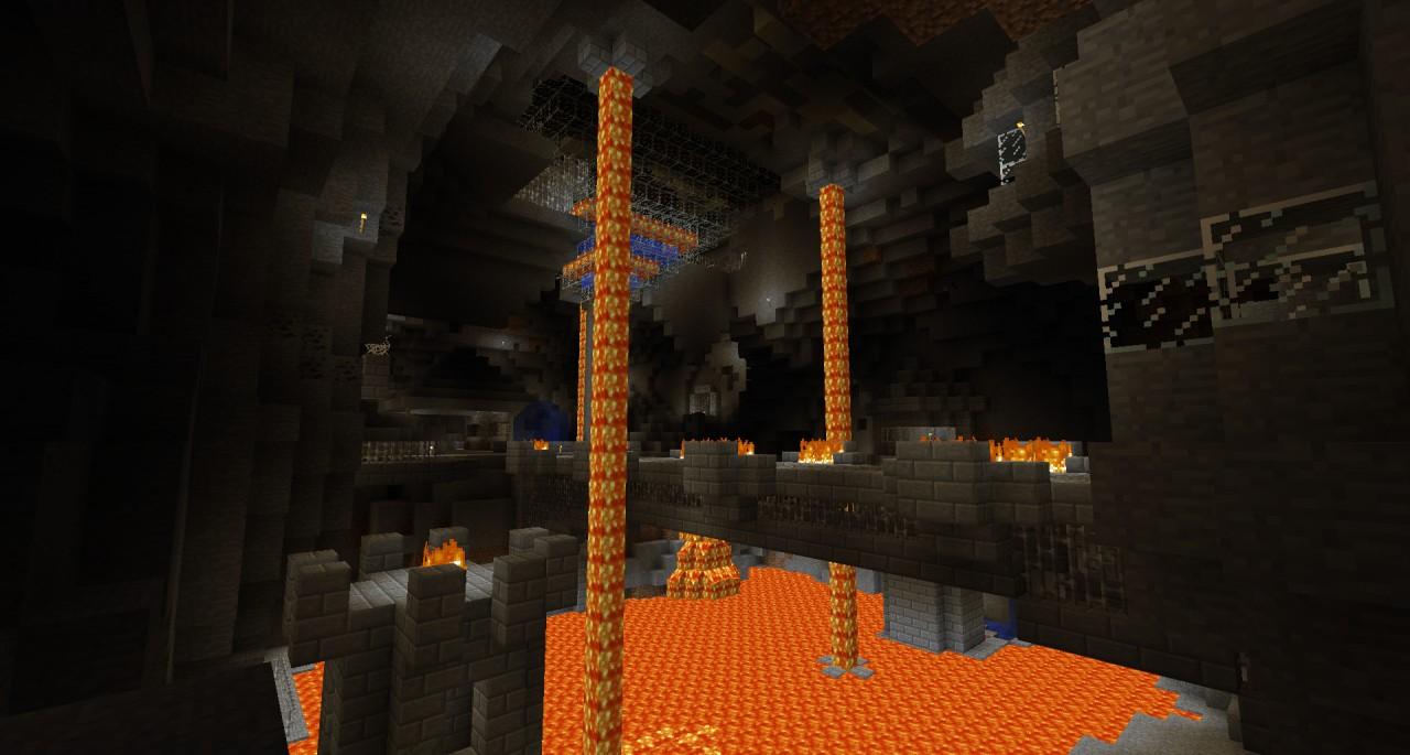 minecraft how to find underground mines