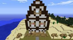 Castle House Modle Minecraft Map & Project
