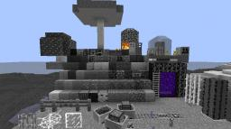 Black and white craft Minecraft Texture Pack