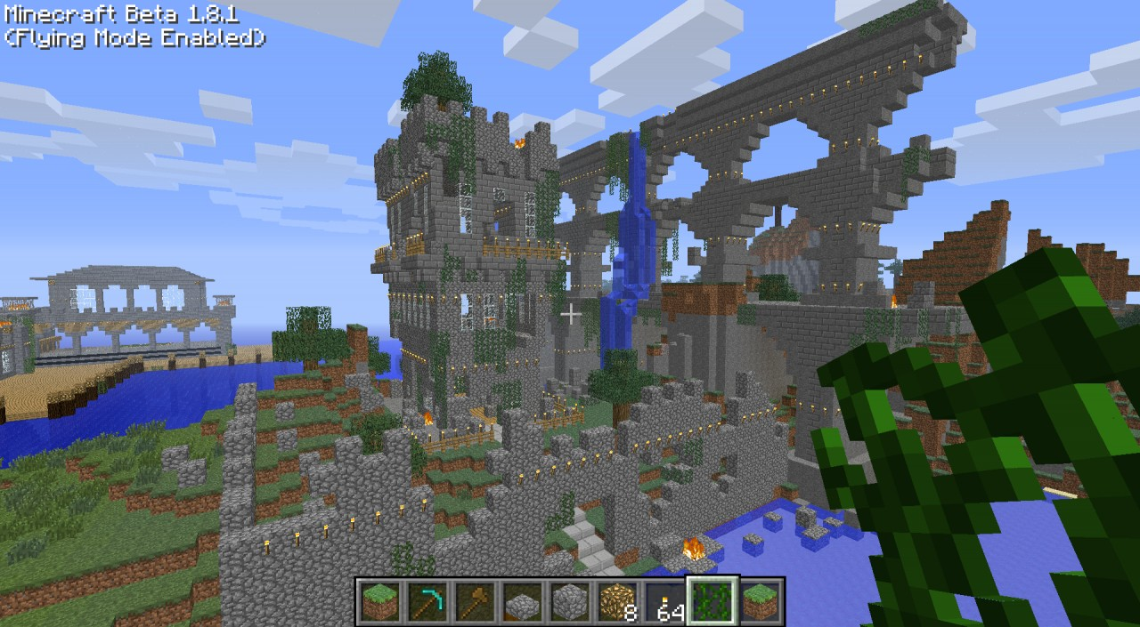 Things to build in a minecraft server