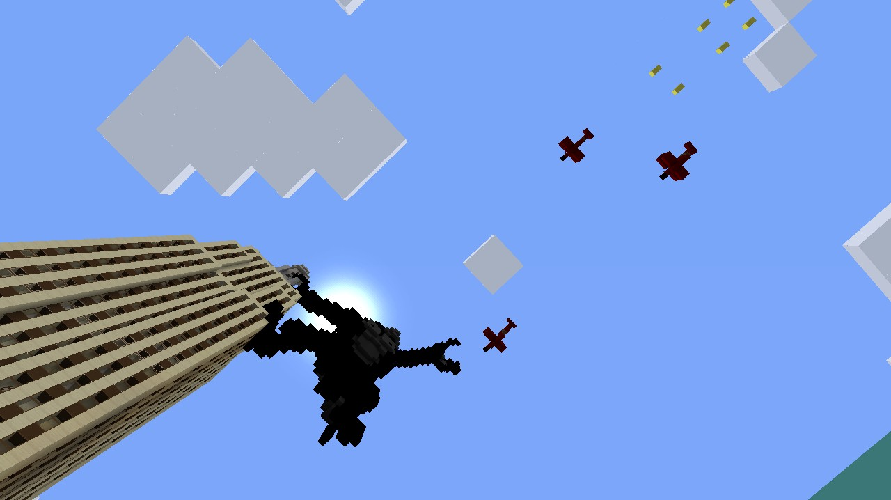 Minecraft Empire State Building With King Kong | www ...