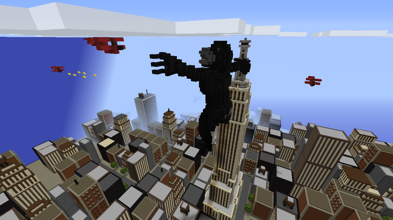 King Kong On The Empire State Building - Now with World ...