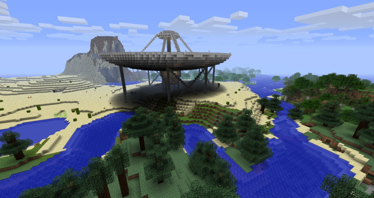 how to build a telescope in minecraft