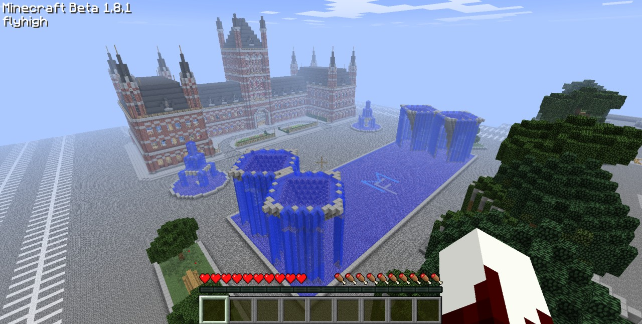 Epic Train Station! (with World Save File) Minecraft Project