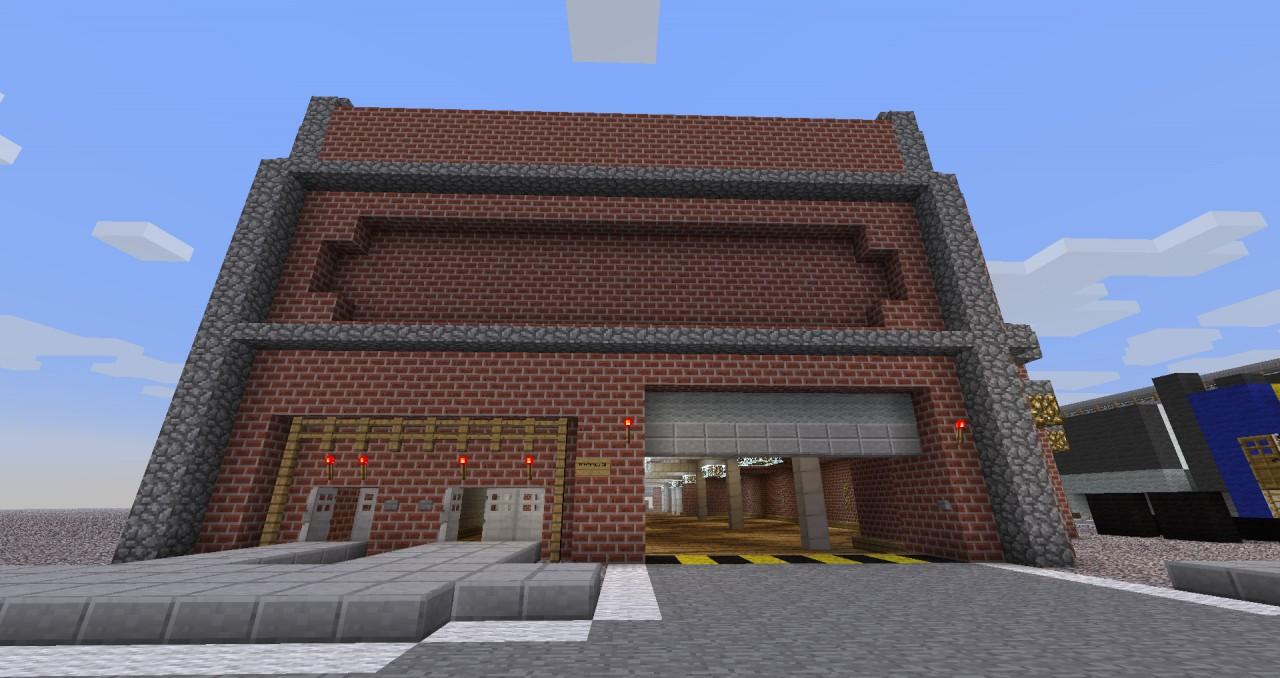 Minecraft Modern Industrial Building Build