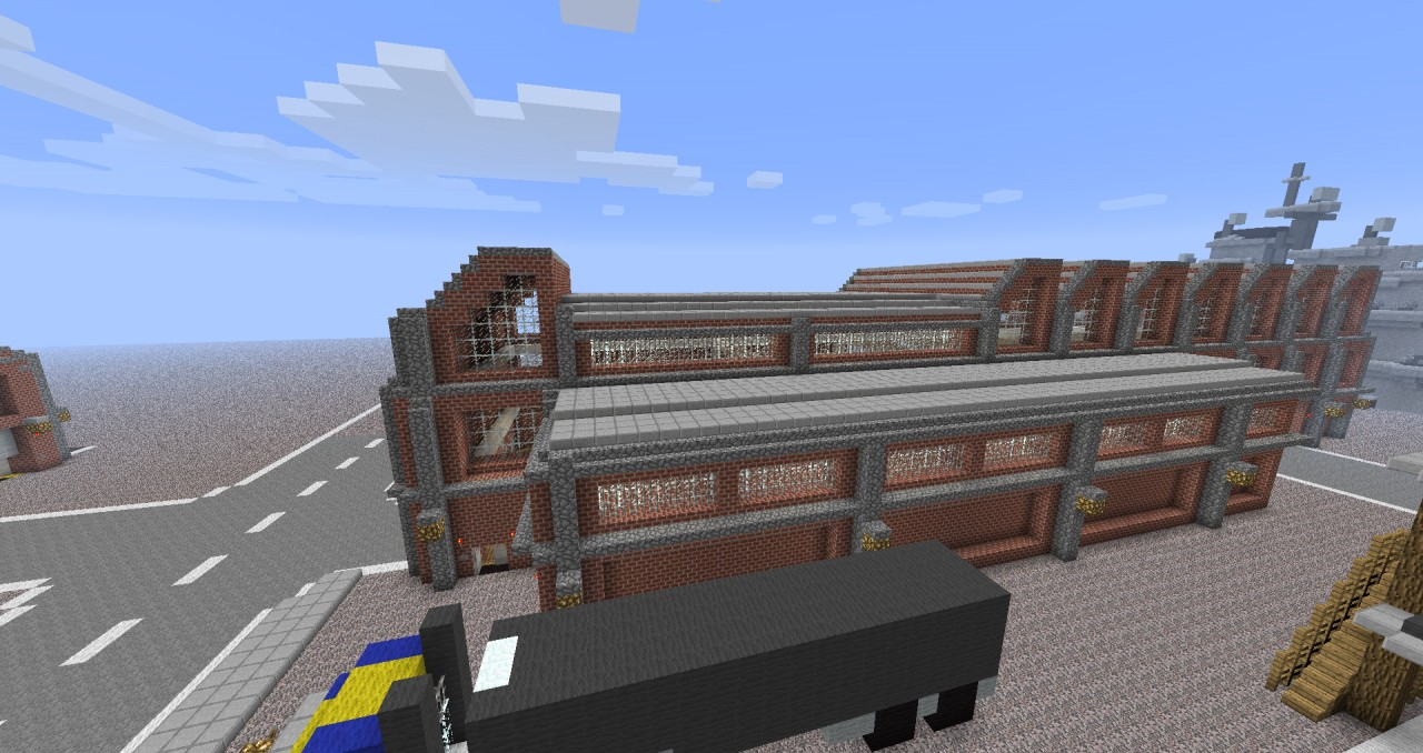Warehouse / Factory Hall Minecraft Project