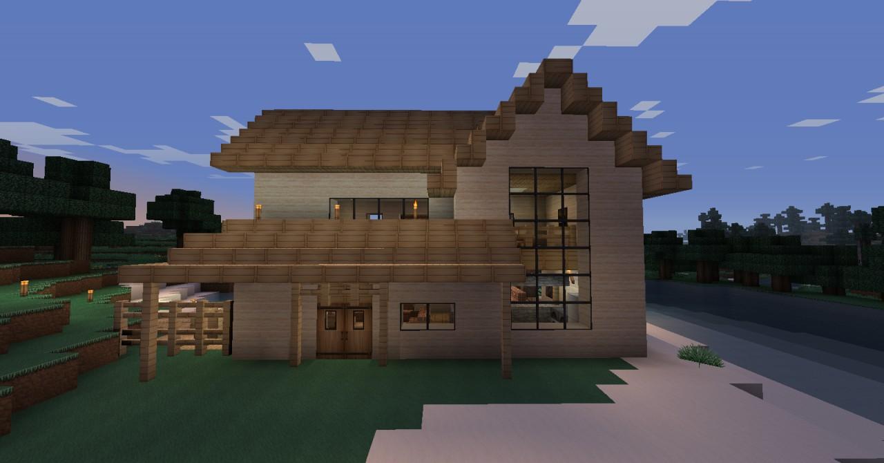 Beach house minecraft project for Beach house designs minecraft