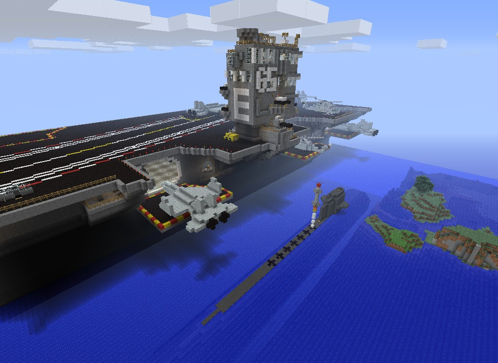 how to build a submarine in minecraft that works