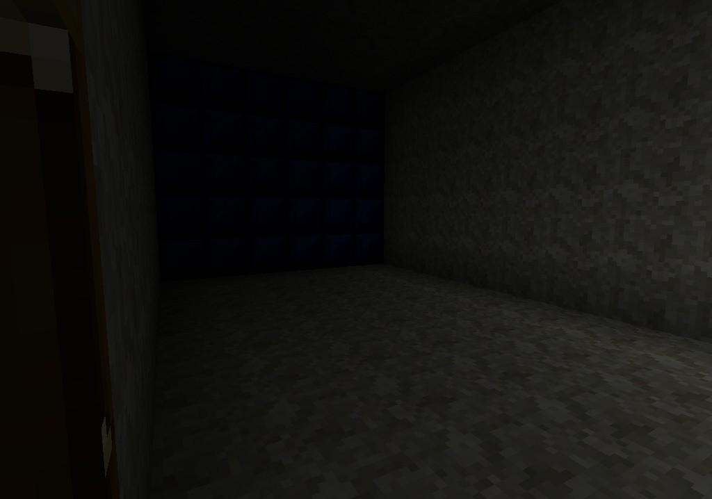 inside of closed door