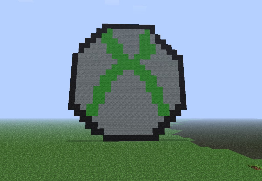 the gallery for gt minecraft logo xbox