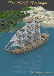 H.M.S. Trafalgar Minecraft Map & Project
