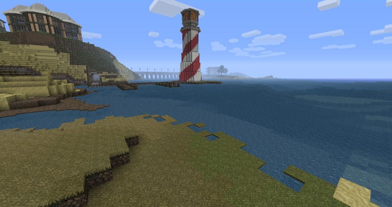 Minecraft Lighthouse Minecraft Map
