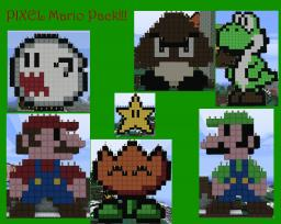 Mario Pack Pixel Art Minecraft