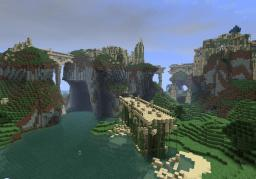 The Ruins of the Mountain Palace Minecraft Project