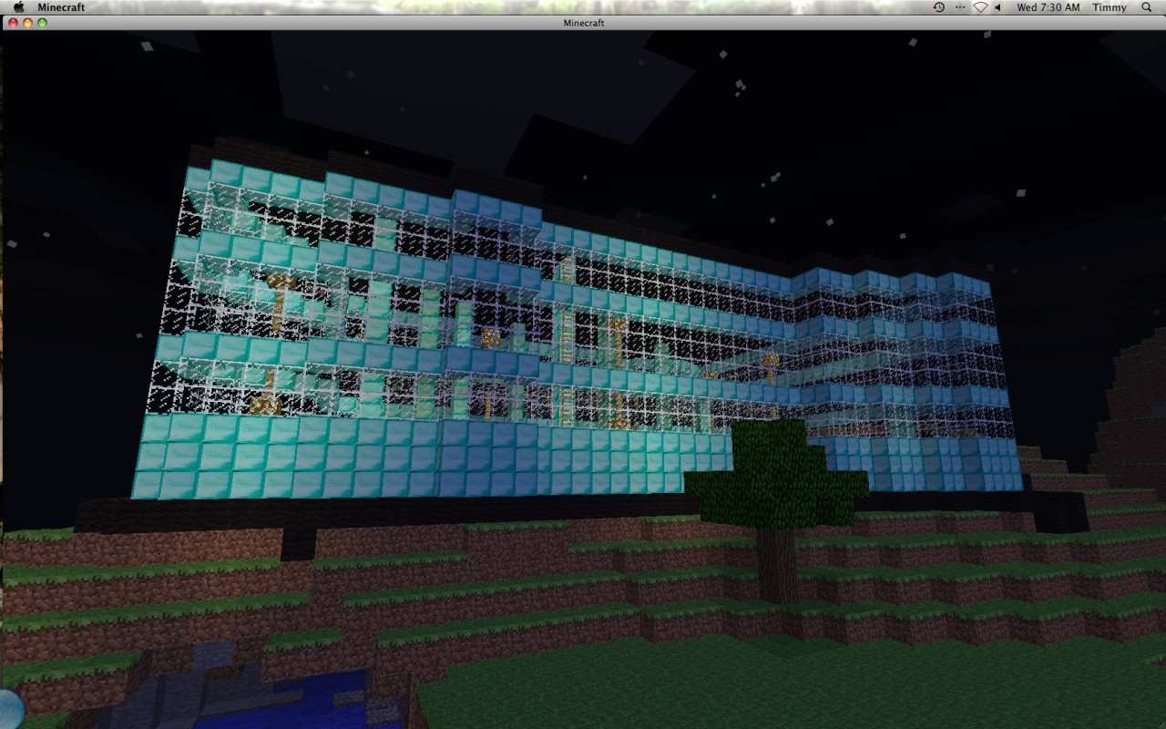 Diamond Mansion Minecraft Project