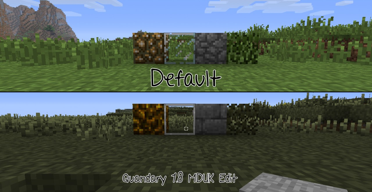 Quandary 1.8 MDUK Edition Revision 3 Minecraft Texture Pack