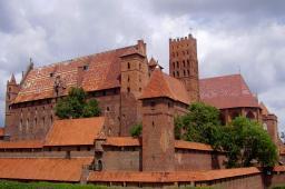 Castel city Malbork PL
