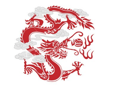chinese dragon pixel art minecraft project