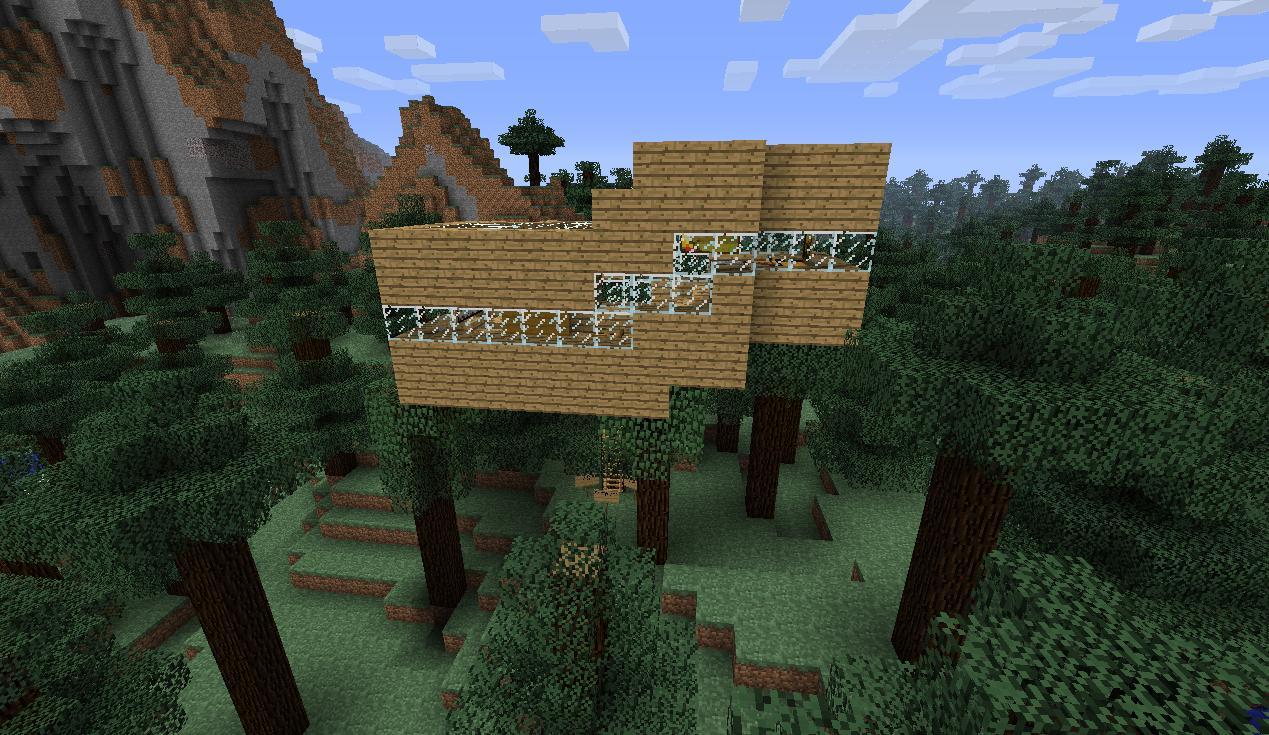 simple tree house Mine...