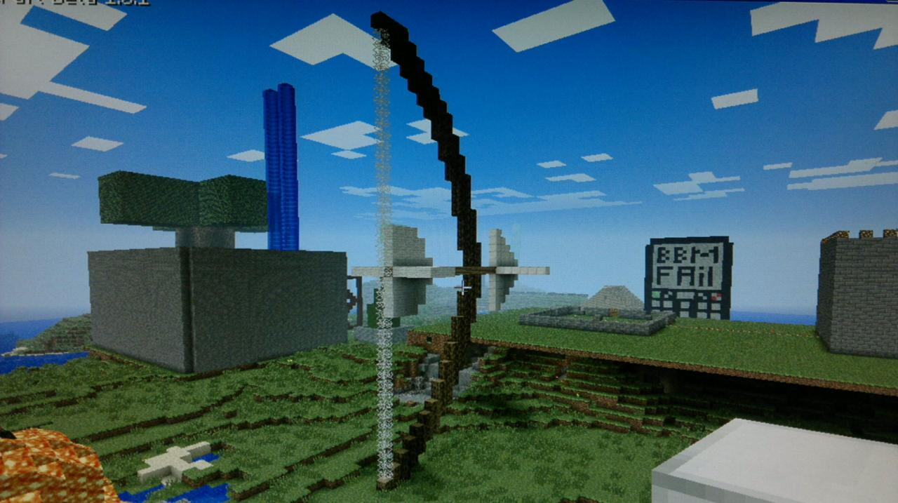 bow and arrow minecraft project