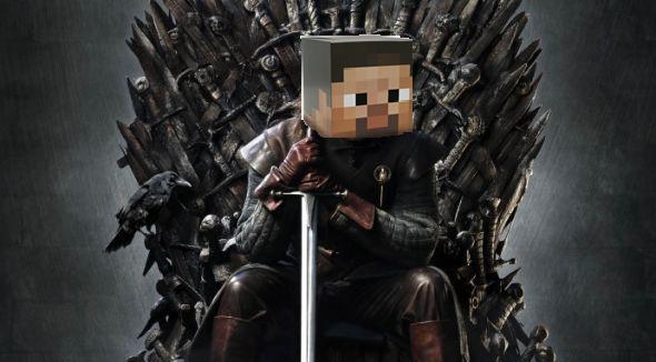 Steve Stark on the Iron Throne