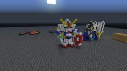 Gundam Minecraft Map & Project
