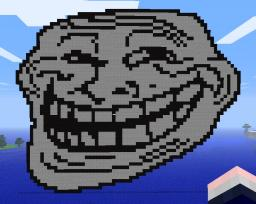 Troll Face Minecraft Map & Project
