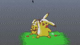 Pikachu and pichu Minecraft Map & Project