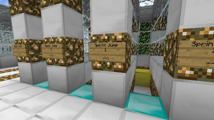 Minecraft parkour training facility minecraft project parkour training facility various jumps publicscrutiny