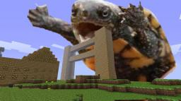 GIANT TURTLE FENCE Minecraft Project