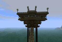 floating house Minecraft Project