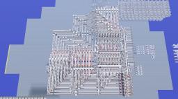8bit 13function ALU Minecraft Map & Project