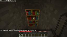 I looked at the terrain file and it looks like theres a lot of bookshelf Minecraft Texture Pack