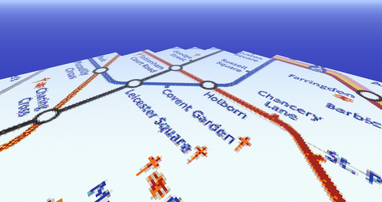 London Underground on Circle Line Design