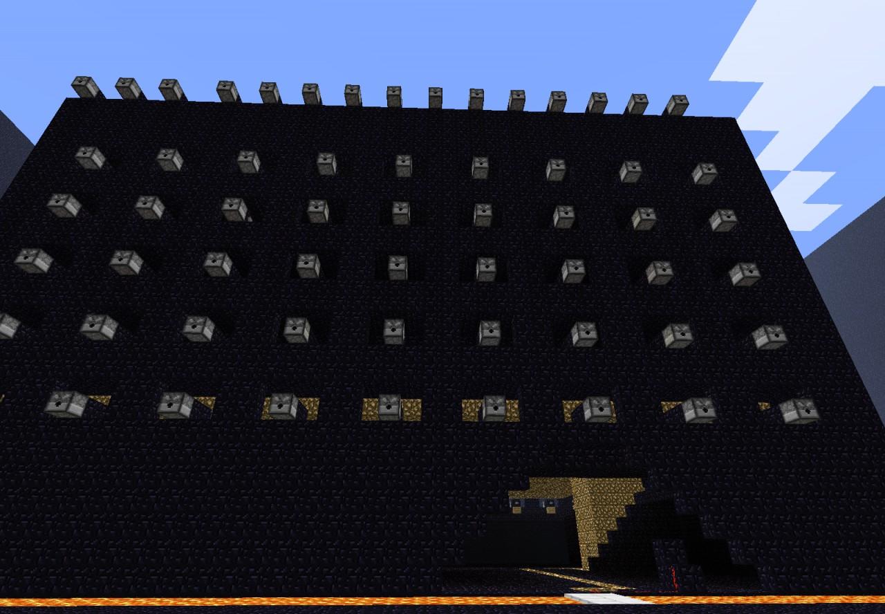 Minecraft Obsidian HouseMinecraft Obsidian House