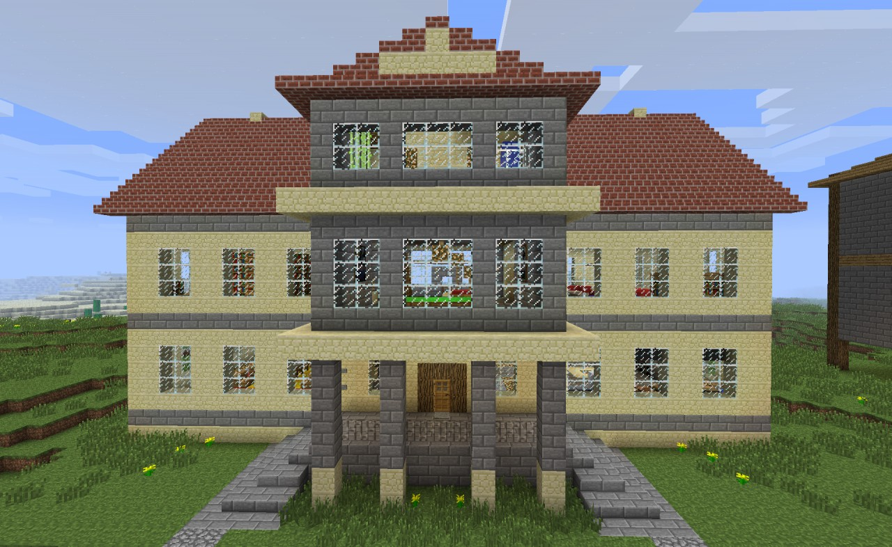 How To Build Minecraft Mansions