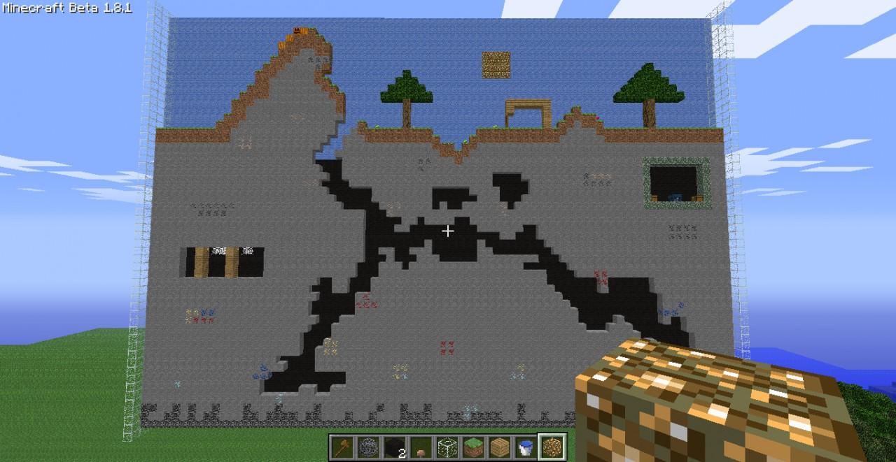 Minecraft Exploted Build