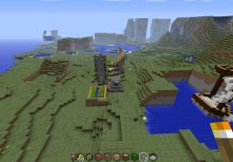 The wierd going on Minecraft Map & Project