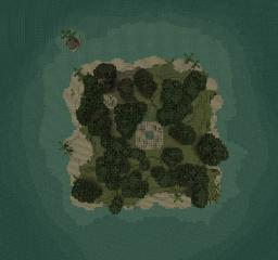 Tropical Pacific Island Minecraft Map & Project
